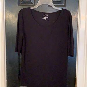 We all love a Soft comfy solid black shirt!!! L